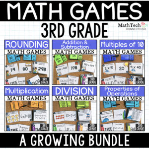 Third grade math centers for guided math