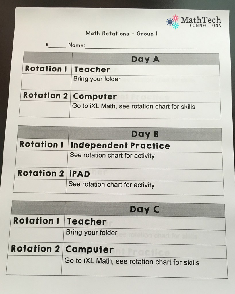 How To Plan Organize Differentiated Math Groups
