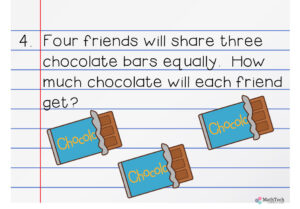 3.nf.1 - equal sharing problems -fractions