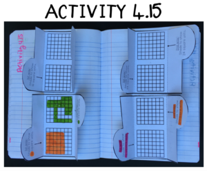 measurement and data interactive activities with math menus