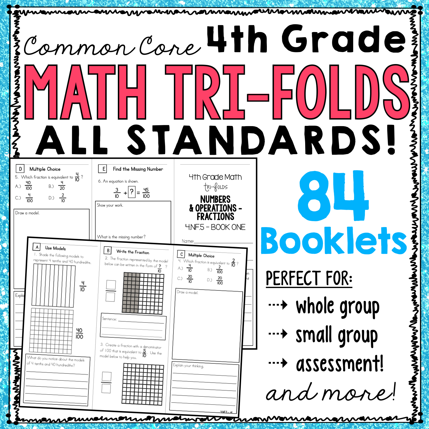 fourth grade common core math, guided math resources