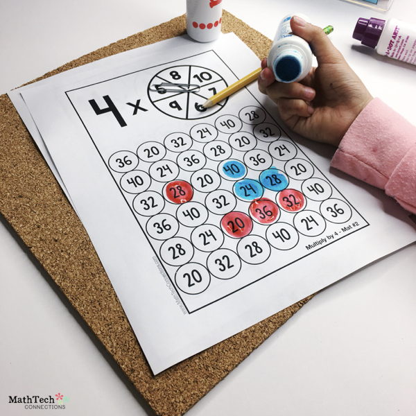 7 activities to practice multiplication