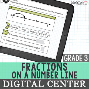 6 activities to practice fractions on a number line - download free printable math centers to review fractions on a number line with your students, fun math centers to review fractions on a number line