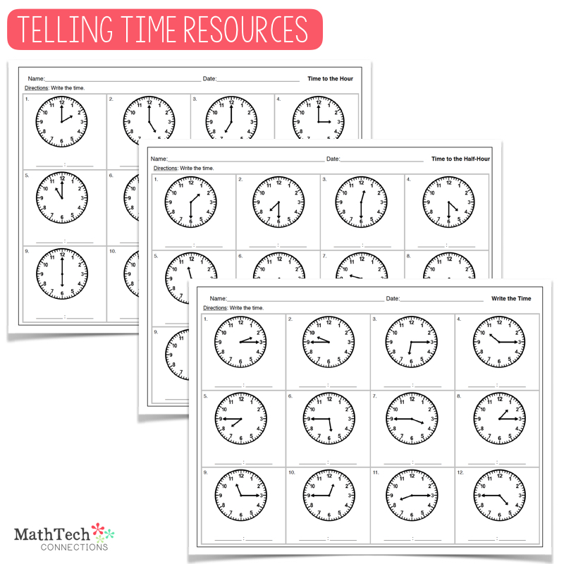 Teaching Time – Level 1: Resources for Beginners
