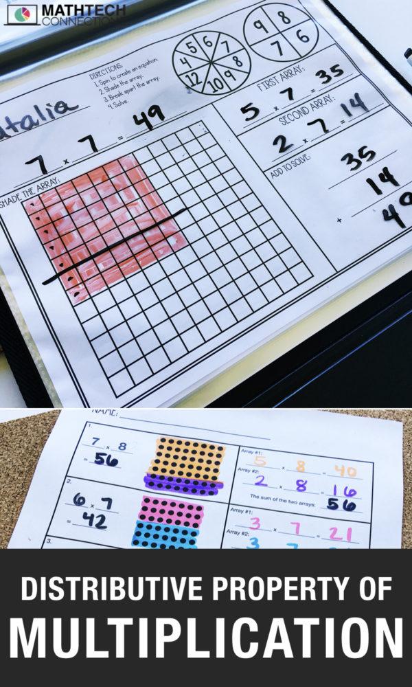 Distributive Property of Multiplication Free Resource