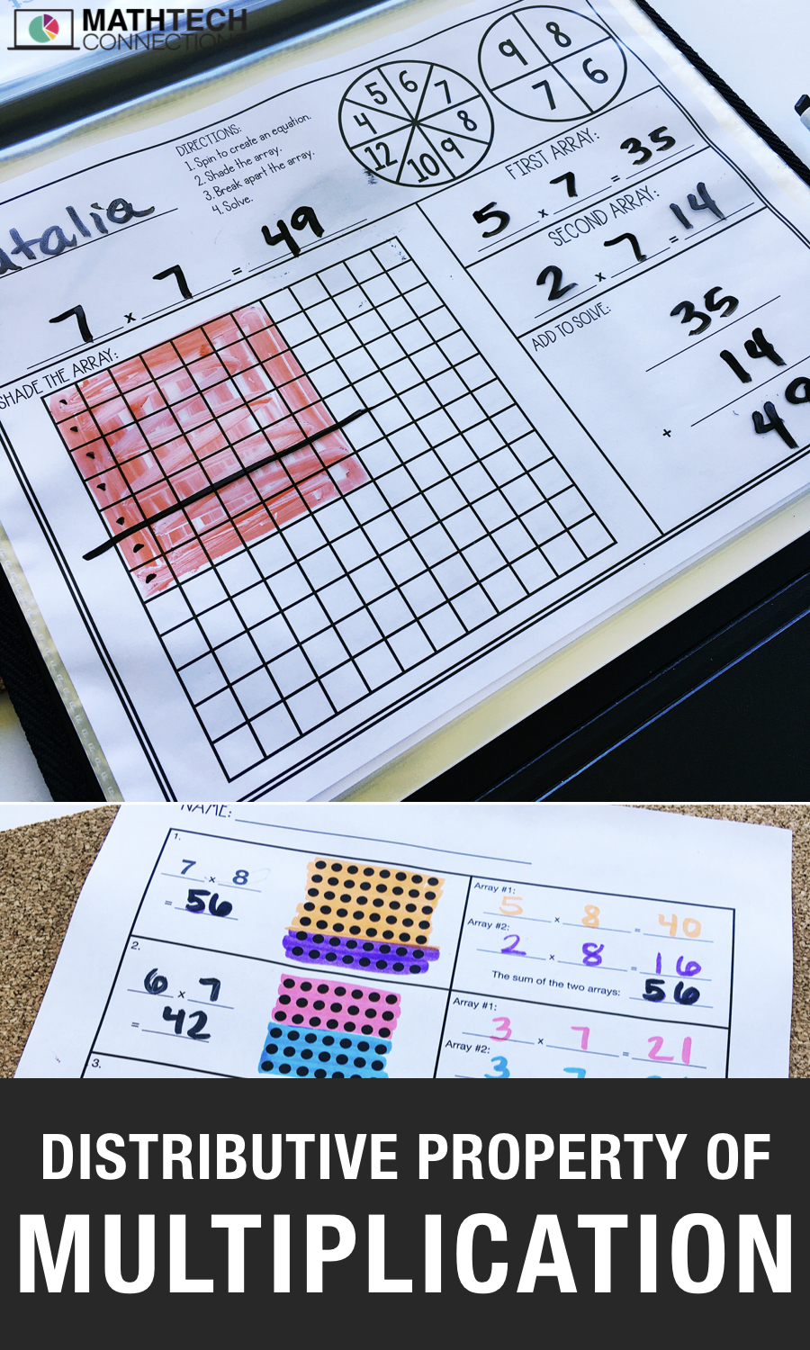 Distributive Property of Multiplication Free Resource
