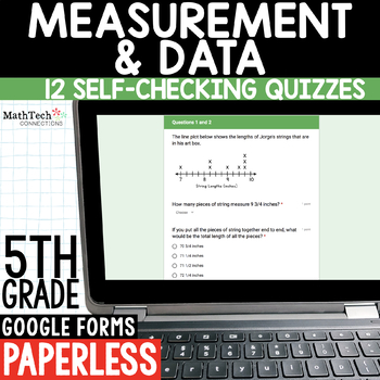 Measuring Volume 5th Grade Digital Math Paperless Resource for Math Centers