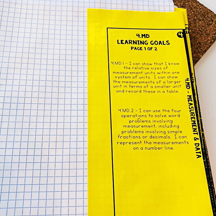 Math notebook dividers for interactive notebook. Includes learning goals. Organize your Math Sorts for guided math groups in this binder. Math binder includes lesson plan templates to organize guided math groups.