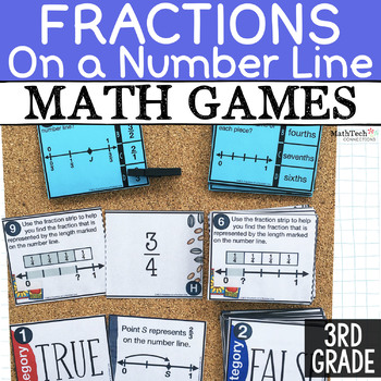 Free Fractions on a Number Line Math Games