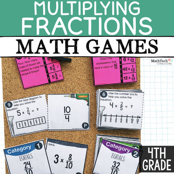 Free Multiplying Fractions Math Games