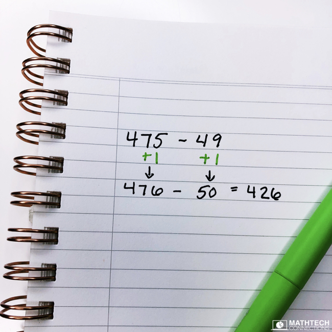 place value concepts - addition and subtraction strategies