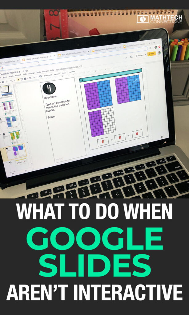Google Classroom Tutorials - What to do when Google Slides aren't interactive