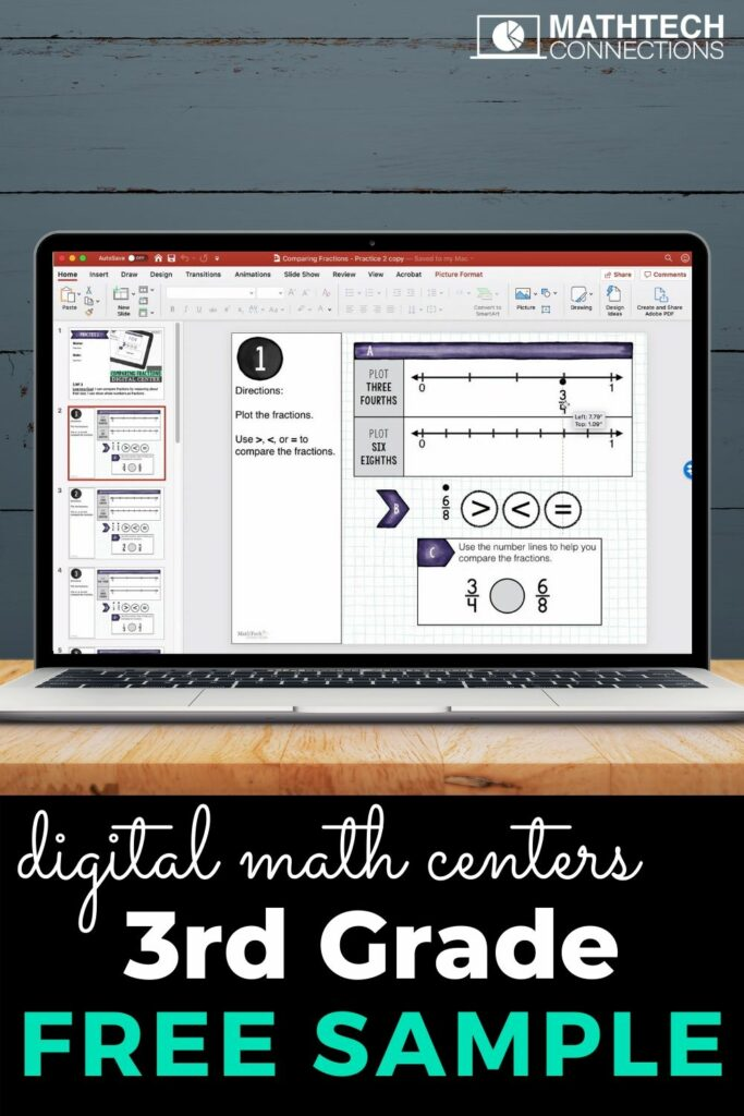 FREE Google Classroom Resources for 3rd Grade. Free digital interactive math slides.
