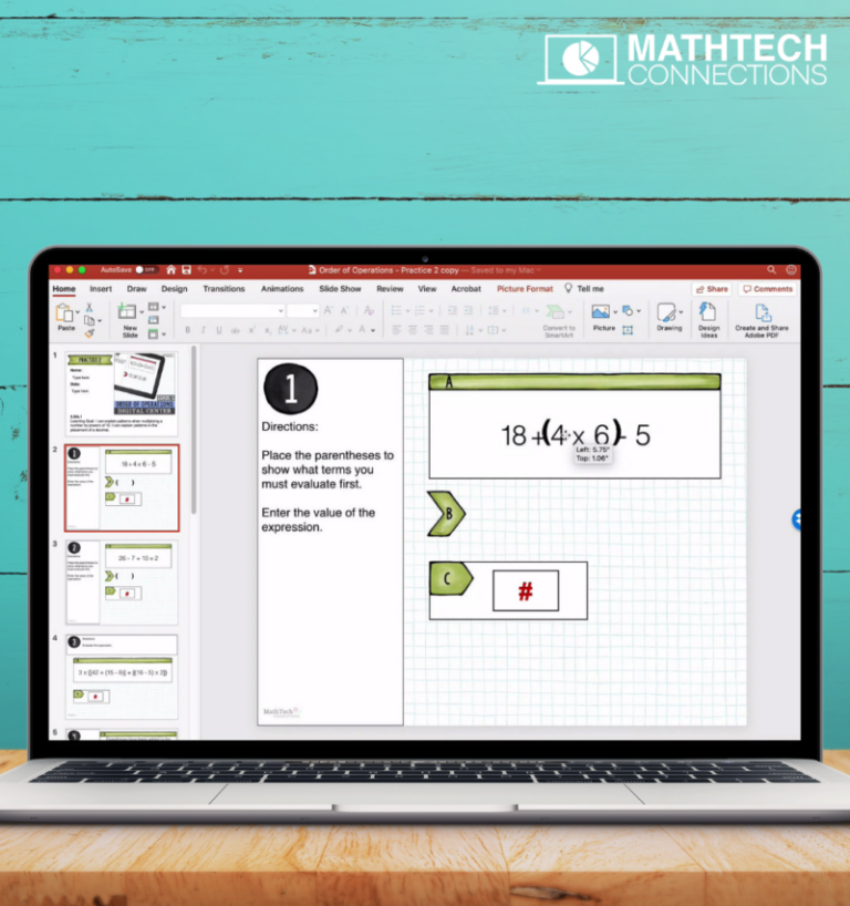 5th Grade Google Slides FREE - Math Tech Connections