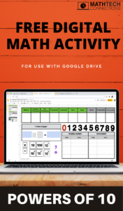 Free Multiply and Divide by Powers of 10 Digital Interactive Math Activity. Use with Google Slides or Download the PowerPoint Version.