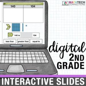 Interactive Math Google Slides for 2nd Grade