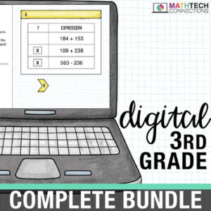 3rd Grade Digital Math Bundle - Interactive Google Slides
