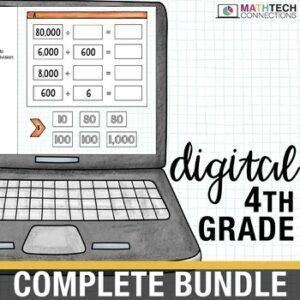 Google Slides Bundle - 4th Grade Digital Math