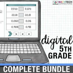 5th Grade Interactive Math Bundle - Google Slides