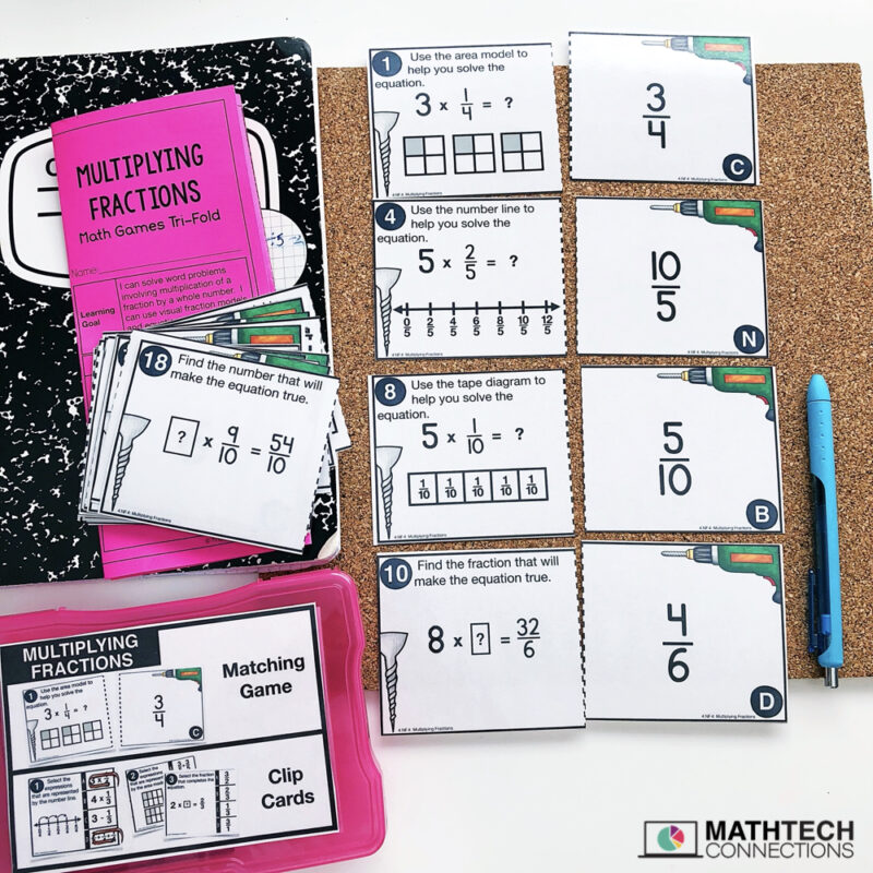 4th Grade FREE Math Centers | Fourth Grade FREE Printable and Digital Math Activities
