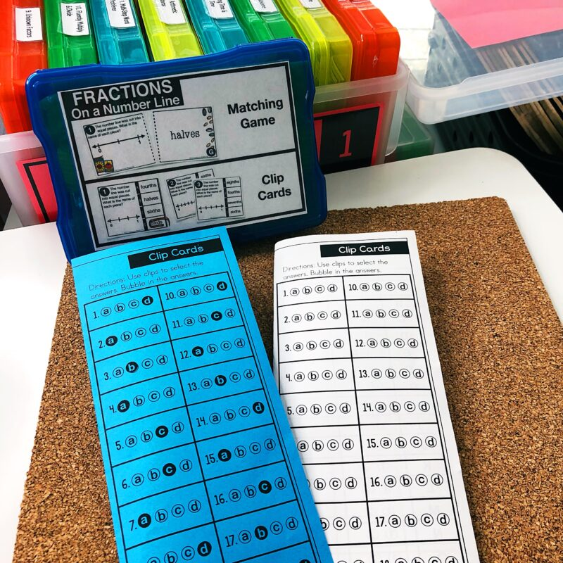 Print and Digital Math Games for Math Stations 3rd Grade FREE download