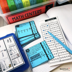 3rd Grade Math Centers - Matching Cards FREE download