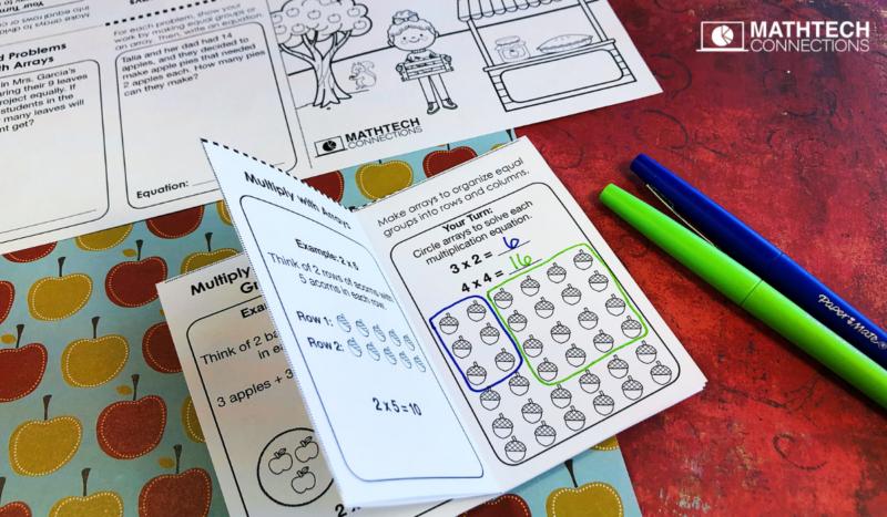 3rd grade math multiplication and division mini-books